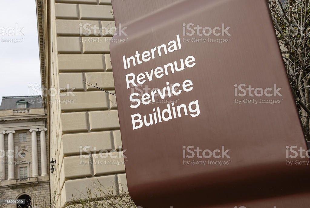 IRS Building stock photo