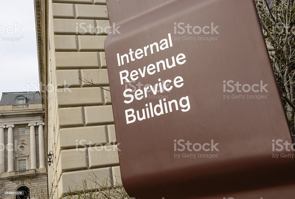 IRS Building stock photo