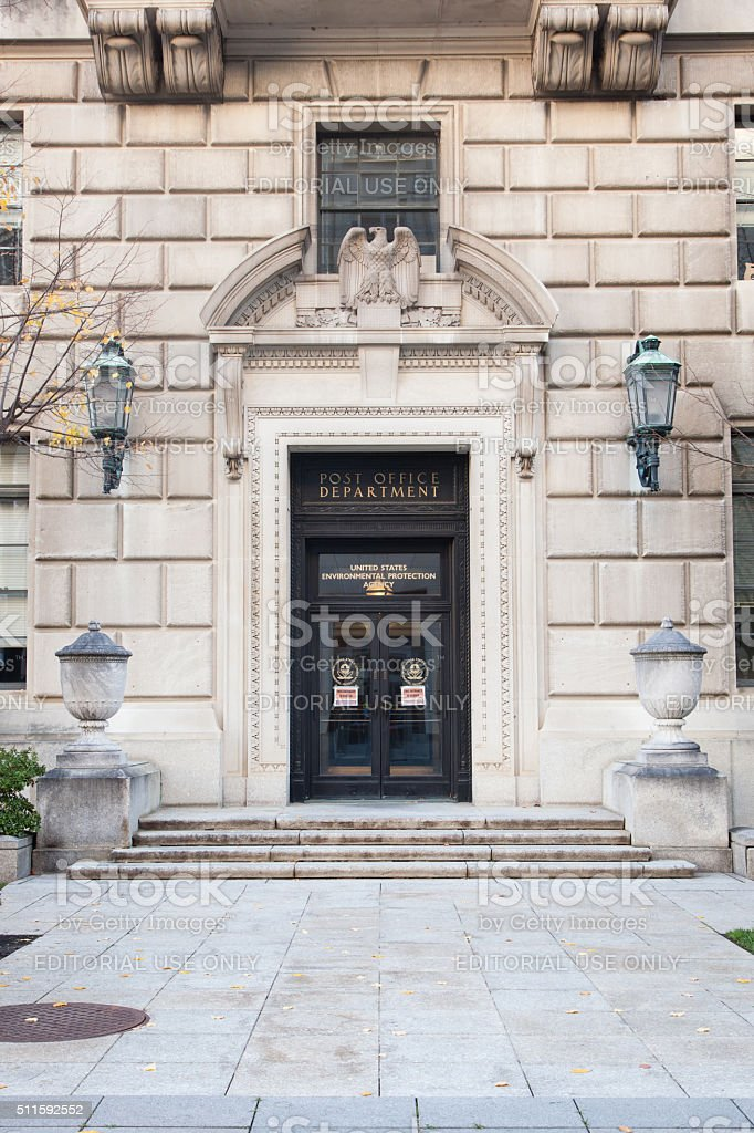 EPA Building stock photo