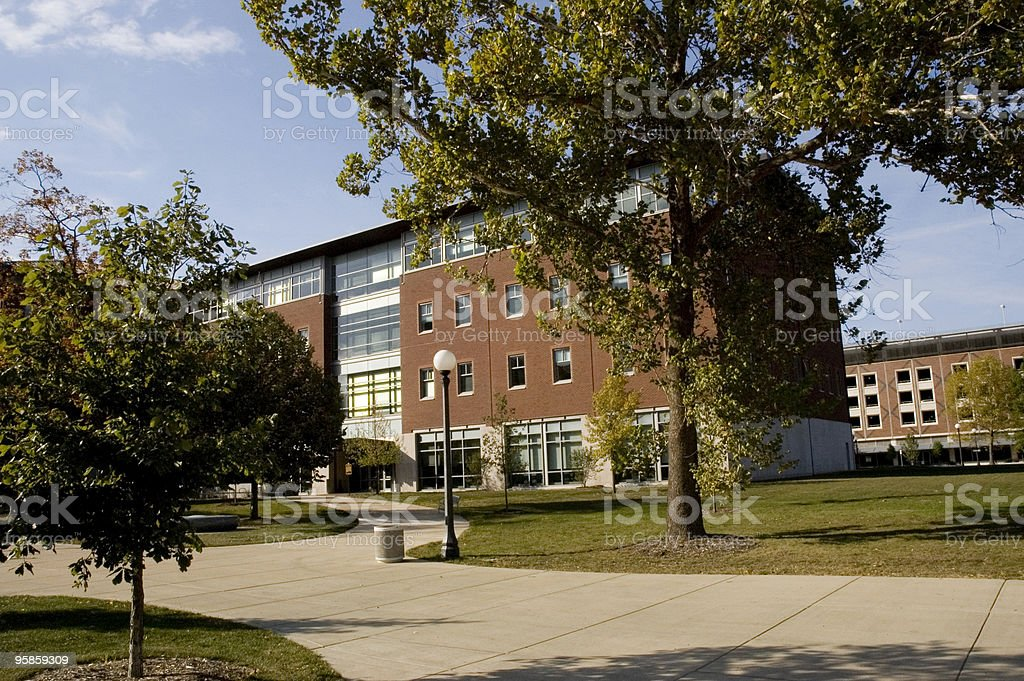 NCSA Building royalty-free stock photo