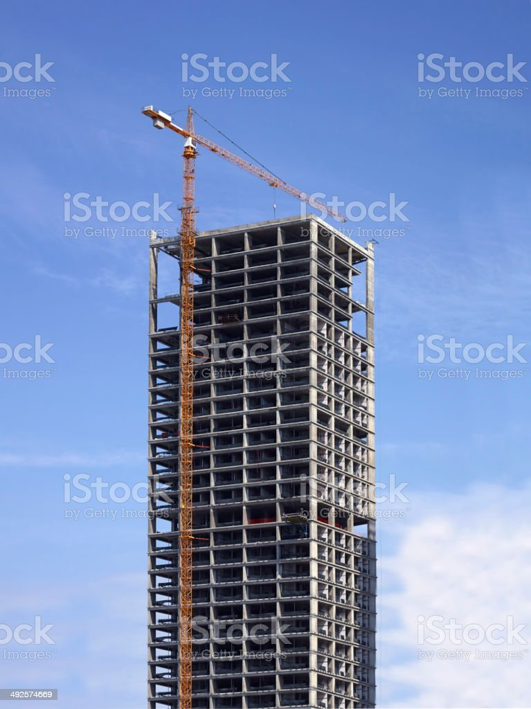 Building Project stock photo