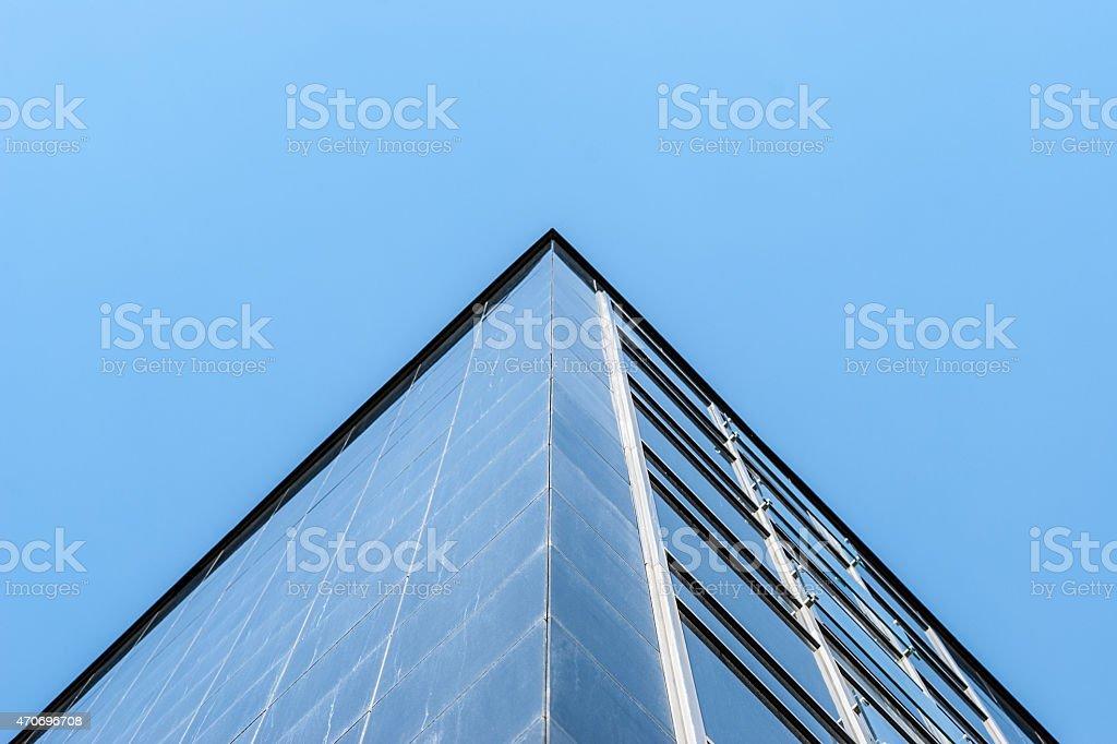 Building pyramid stock photo
