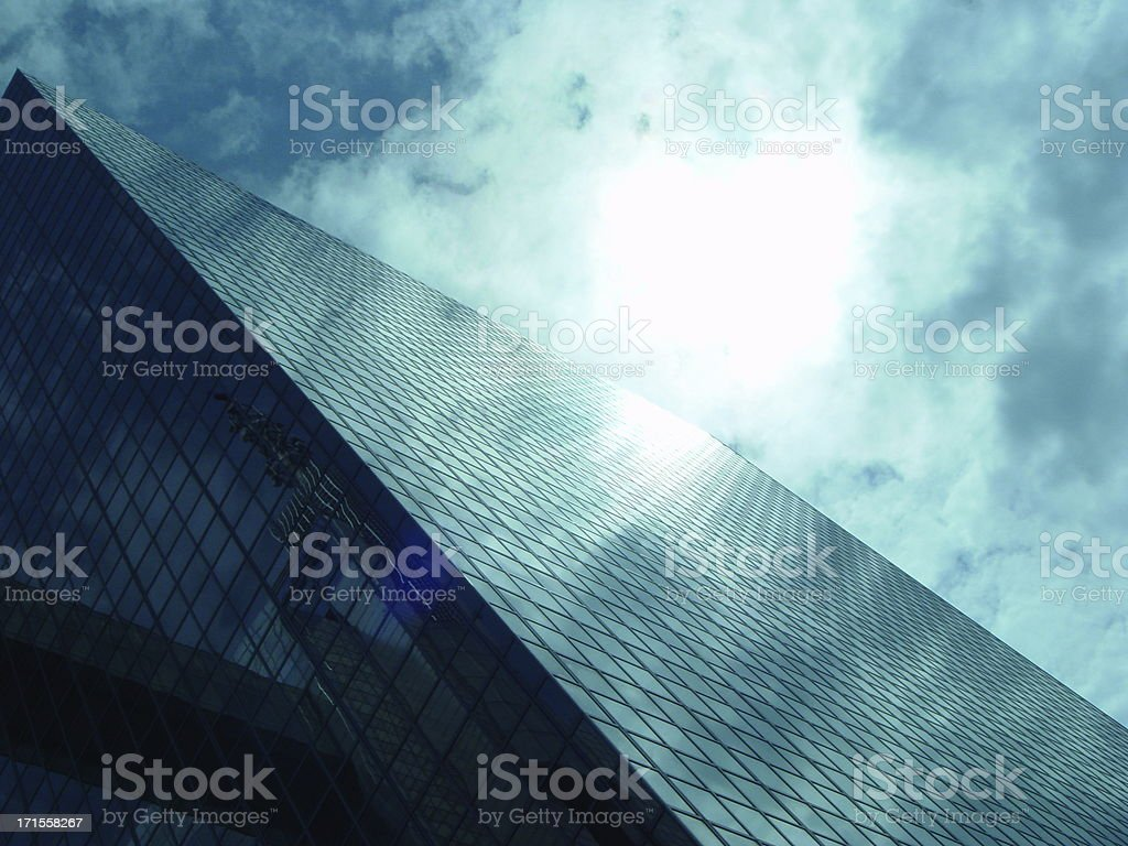 Building Reflection Brussels Belgium royalty-free stock photo