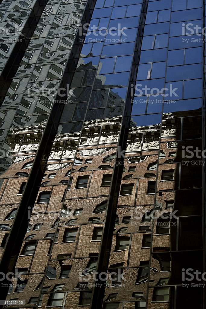 Building Reflections royalty-free stock photo
