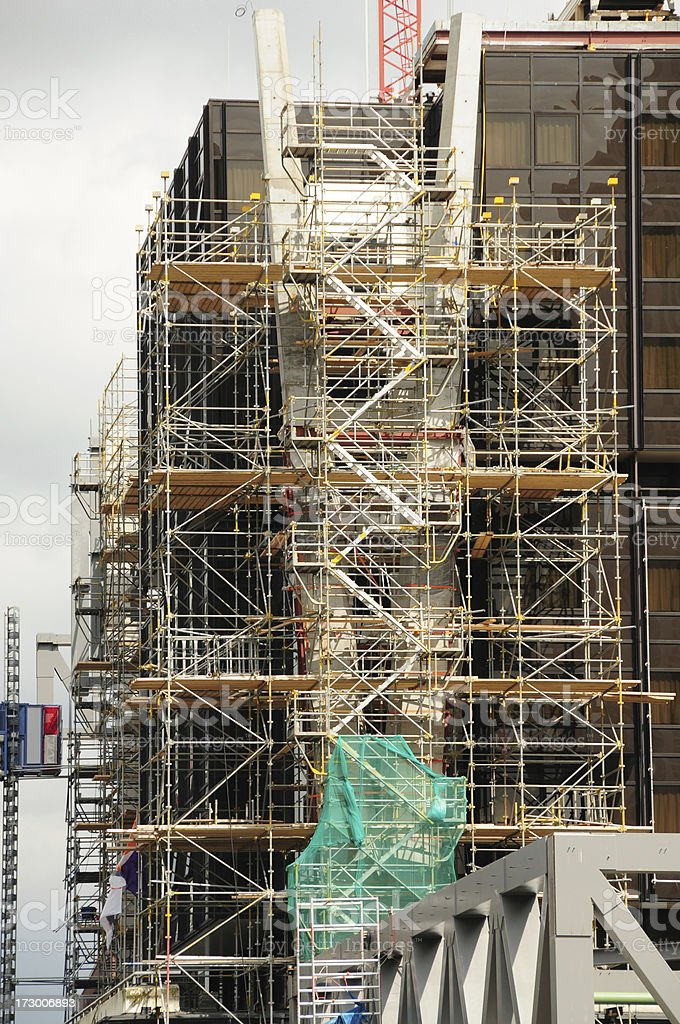 Building Renovation royalty-free stock photo