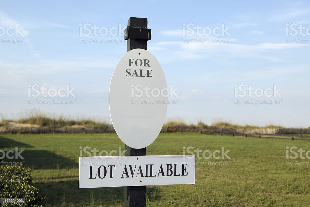 Building Site for Home royalty-free stock photo