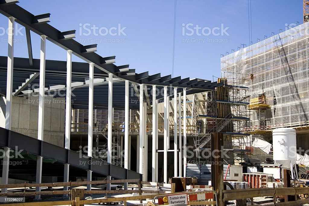 Building Site royalty-free stock photo