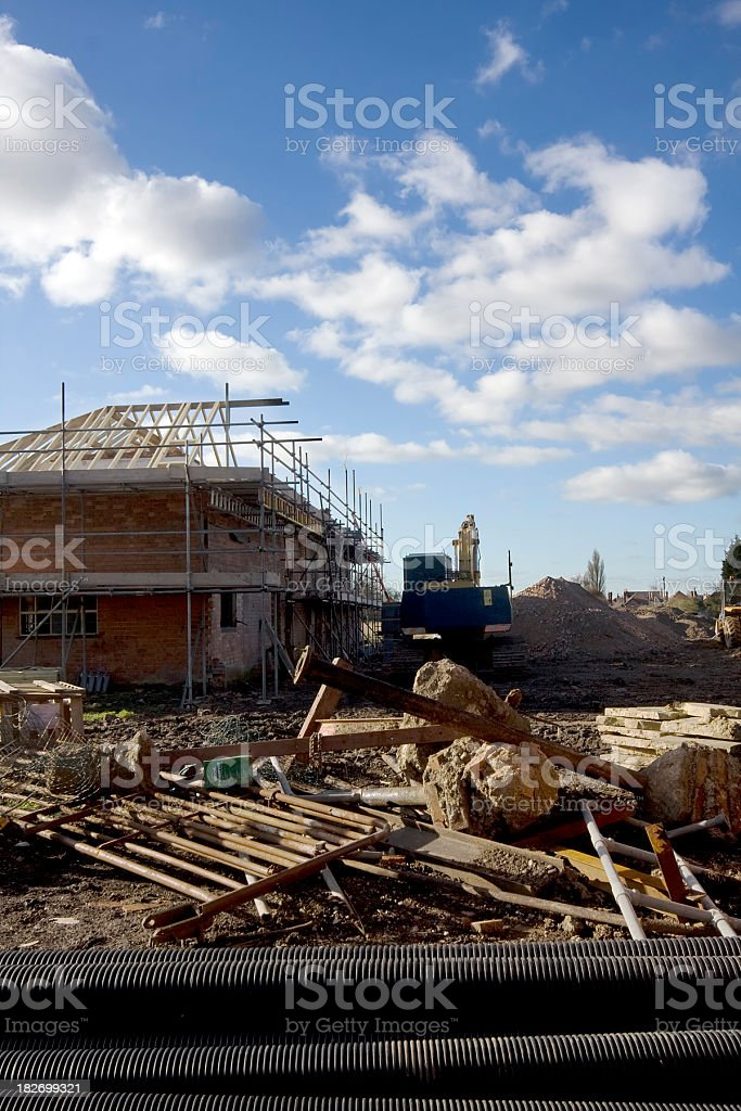 Building site, renovation royalty-free stock photo