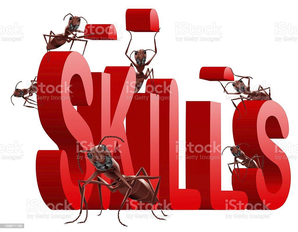 building skills royalty-free stock photo