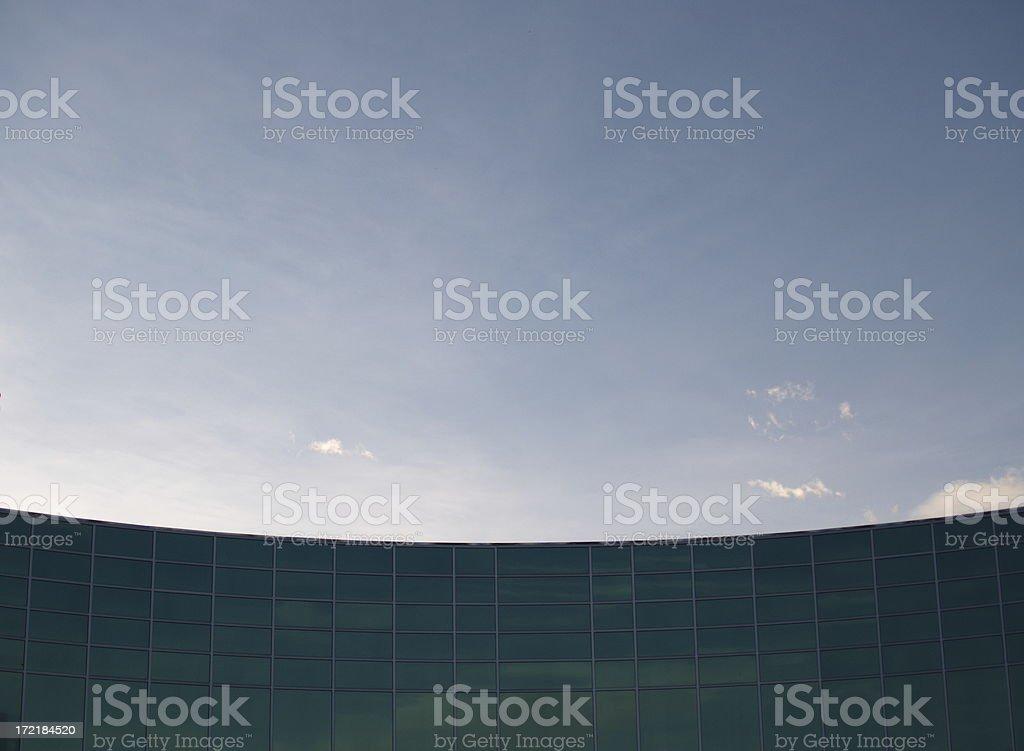 Building & Sky Background stock photo