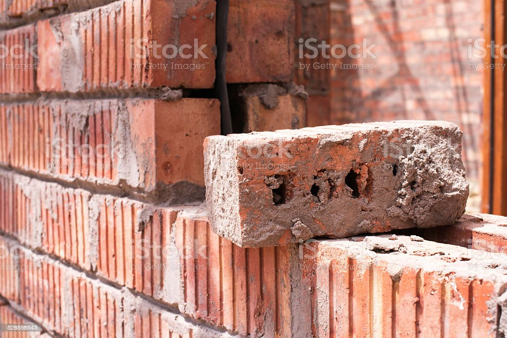 Building sound foundations stock photo