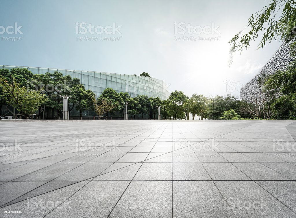 Building Square stock photo