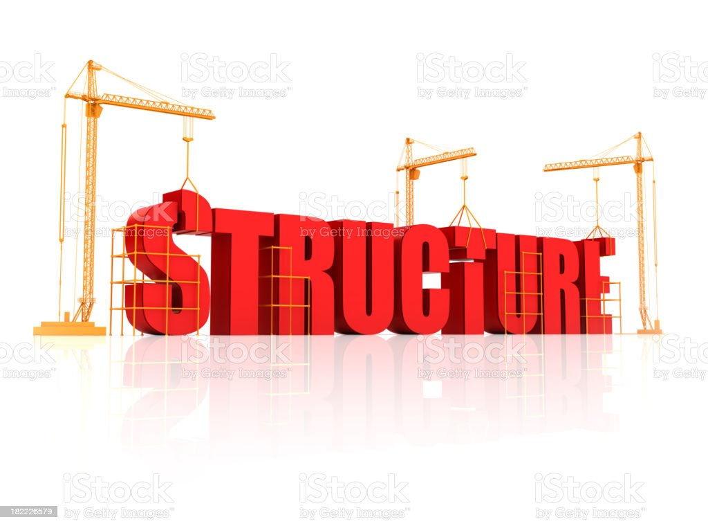 Building Structure royalty-free stock photo
