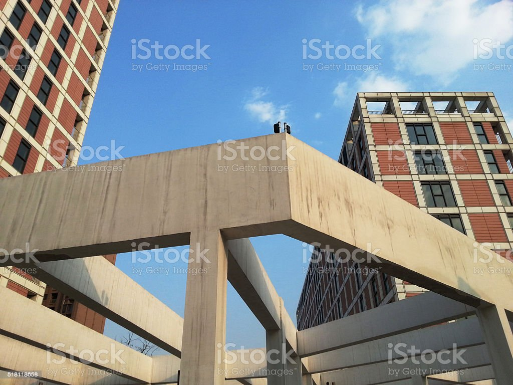 Building structure,Close-up, stock photo
