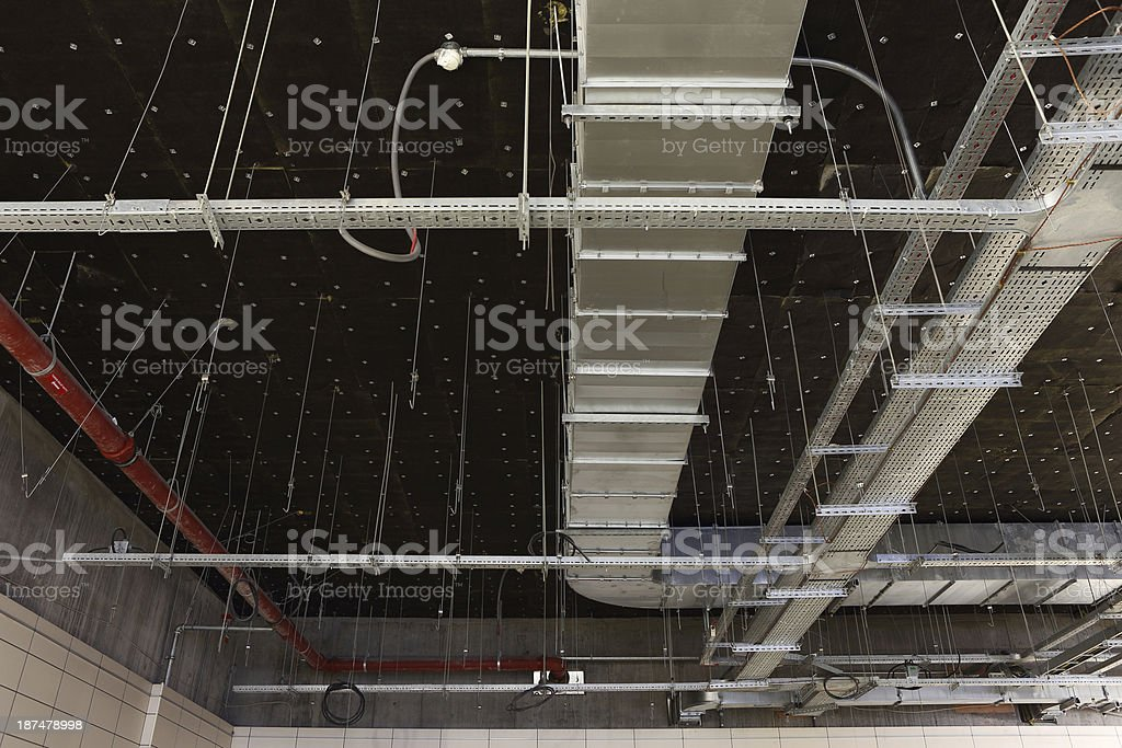 Building systems stock photo