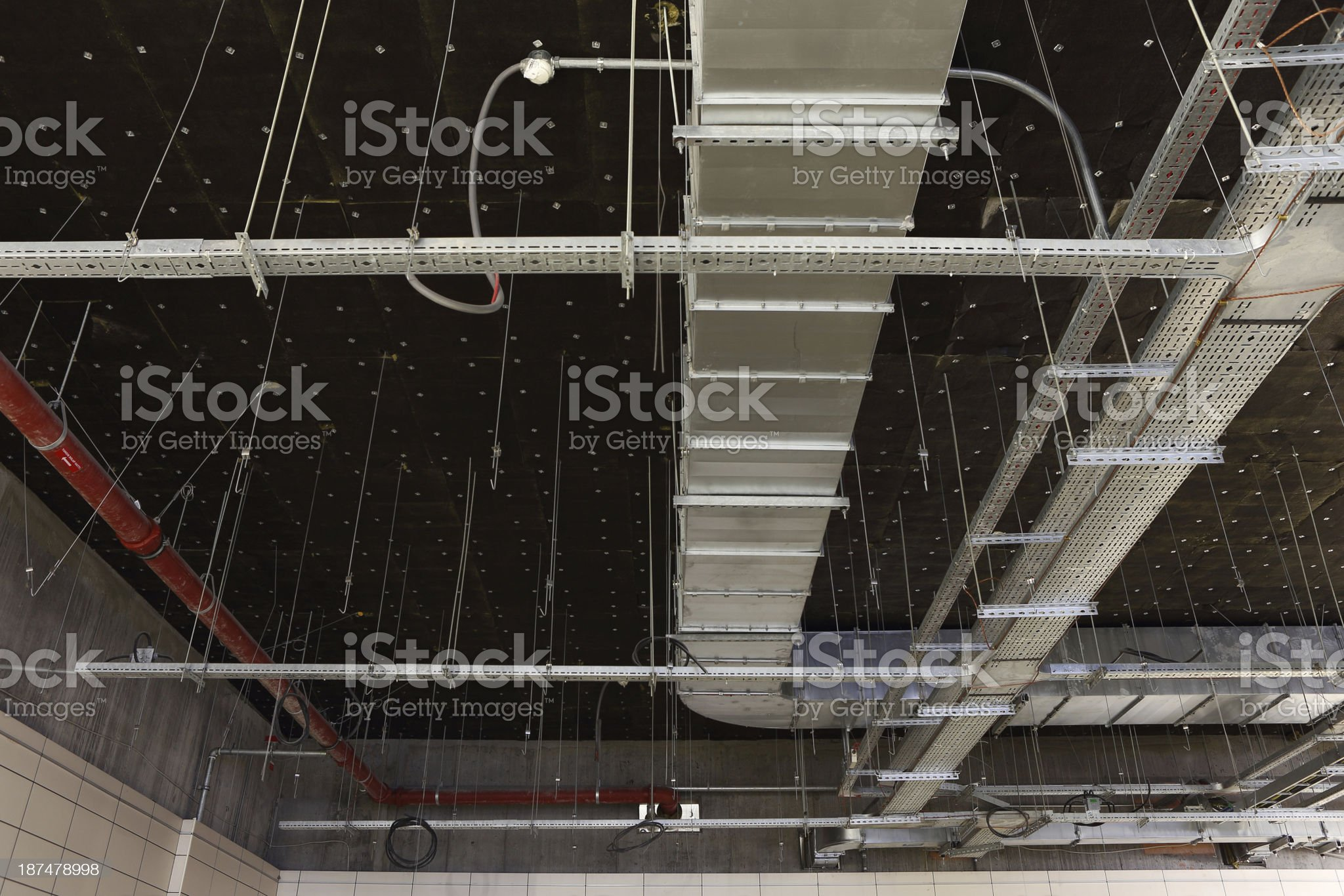 Building systems royalty-free stock photo