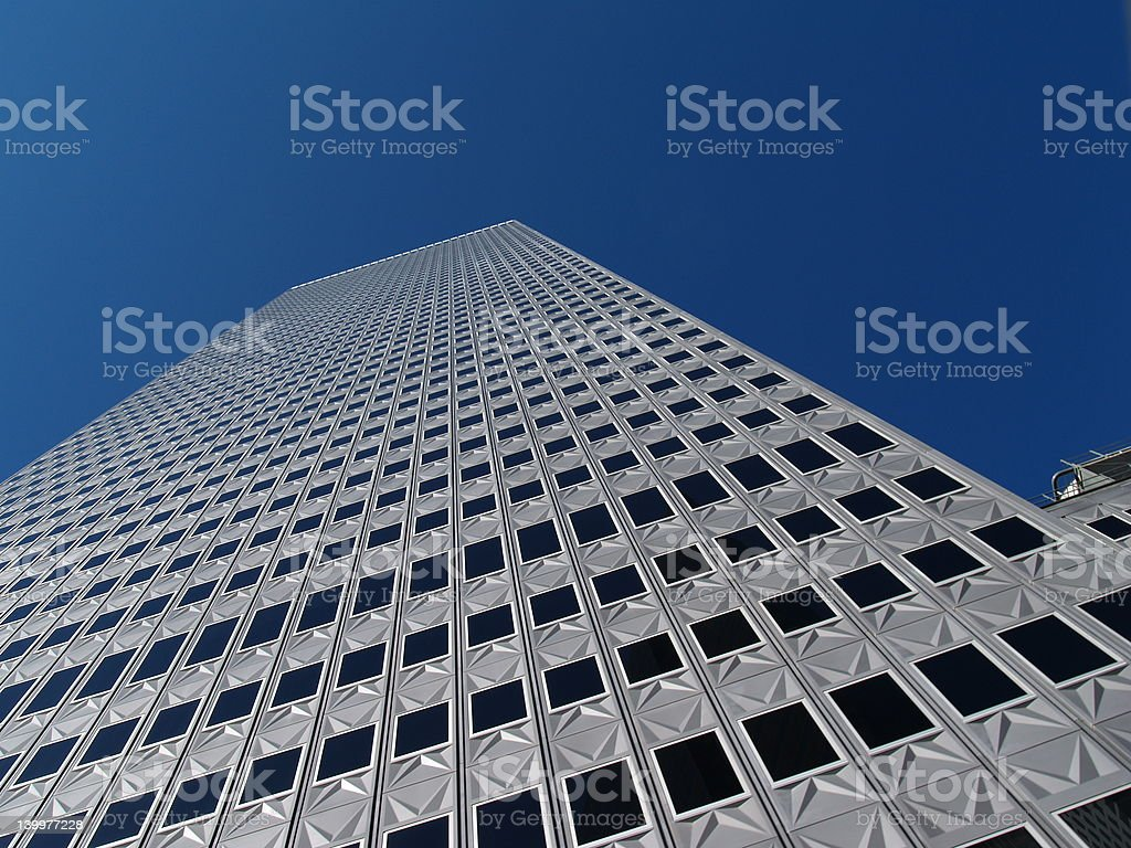 Building to the Sky stock photo