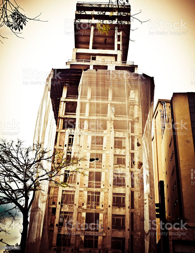 building under stock photo