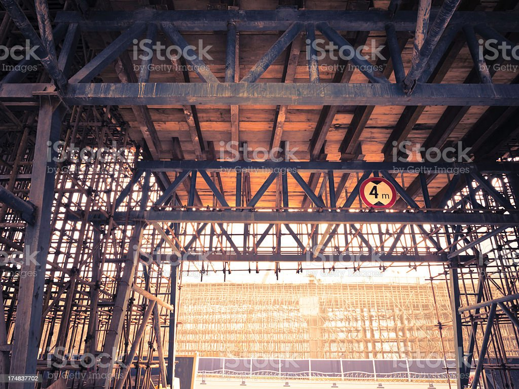 Building Viaduct royalty-free stock photo