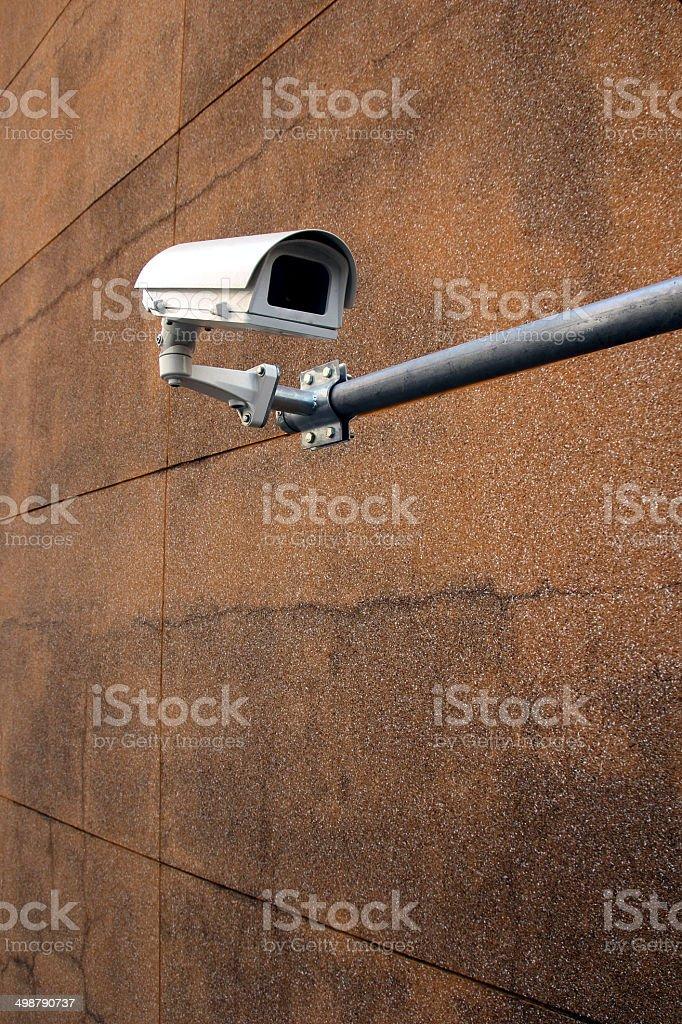 CCTV building wall stock photo