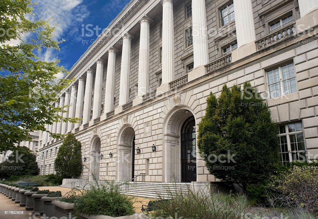 IRS Building Washington DC. stock photo