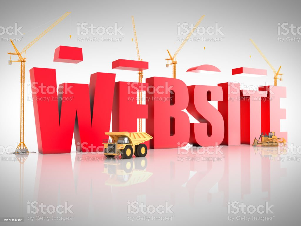 Building website stock photo