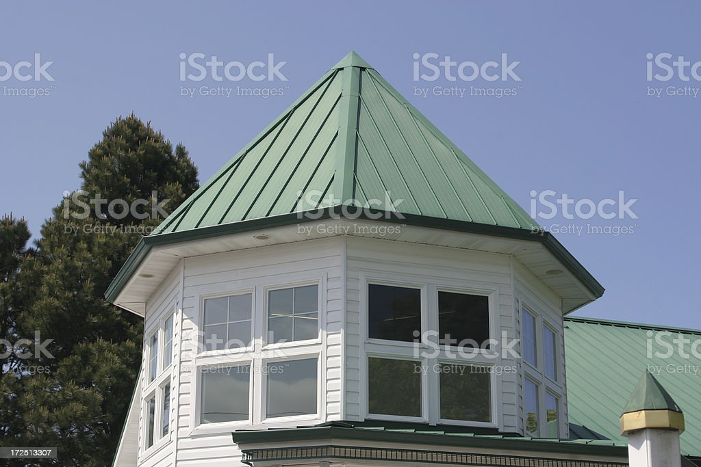 Building With Cupola Roof royalty-free stock photo