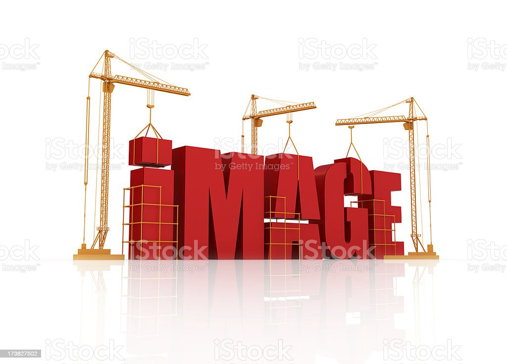building your image royalty-free stock photo