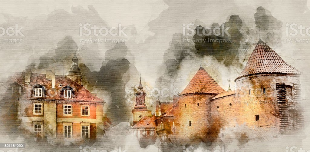 Buildings and constructions stock photo