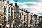 Buildings and Streets of Prague, Czech Republic