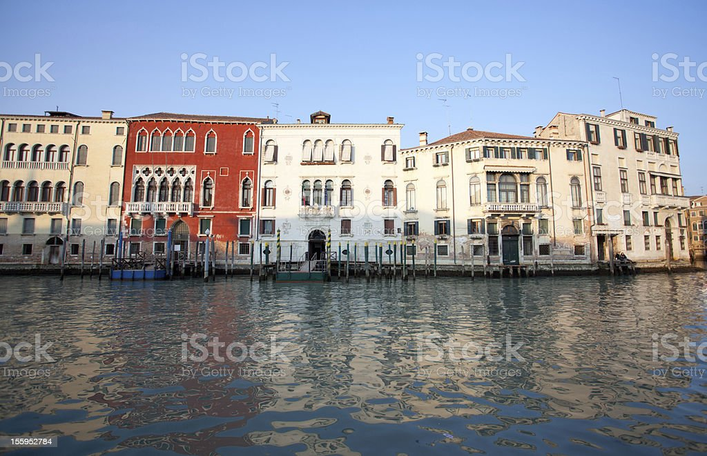 Buildings at Venice, Italy royalty-free stock photo