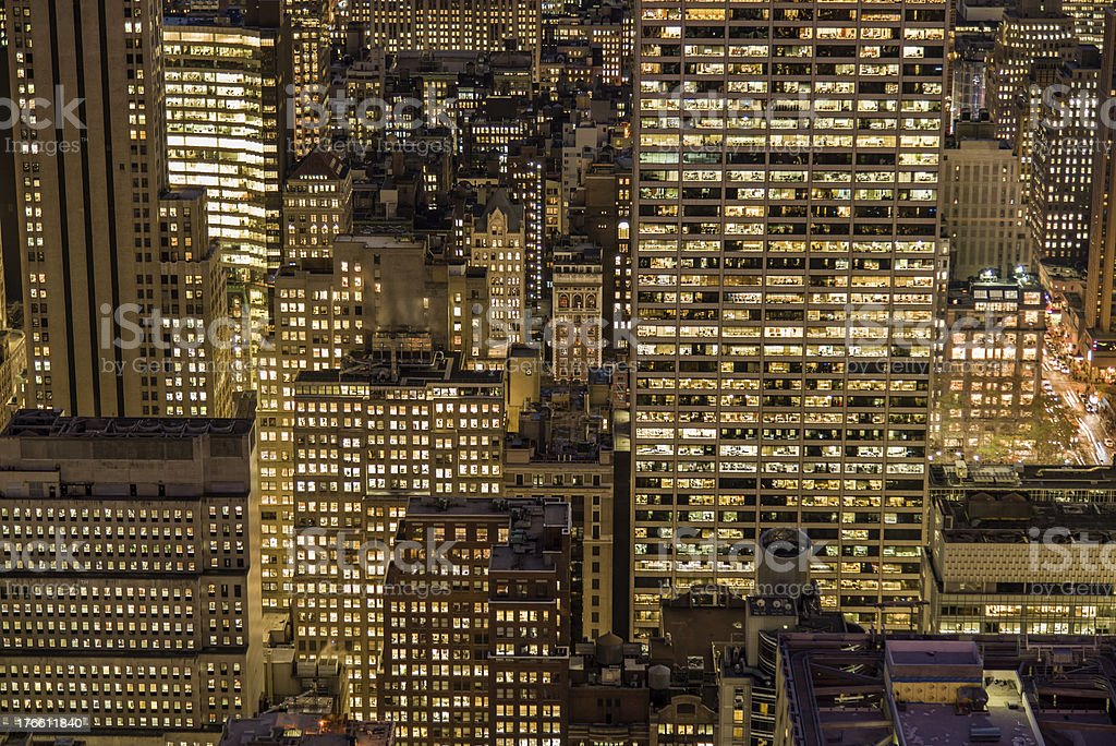Buildings background royalty-free stock photo