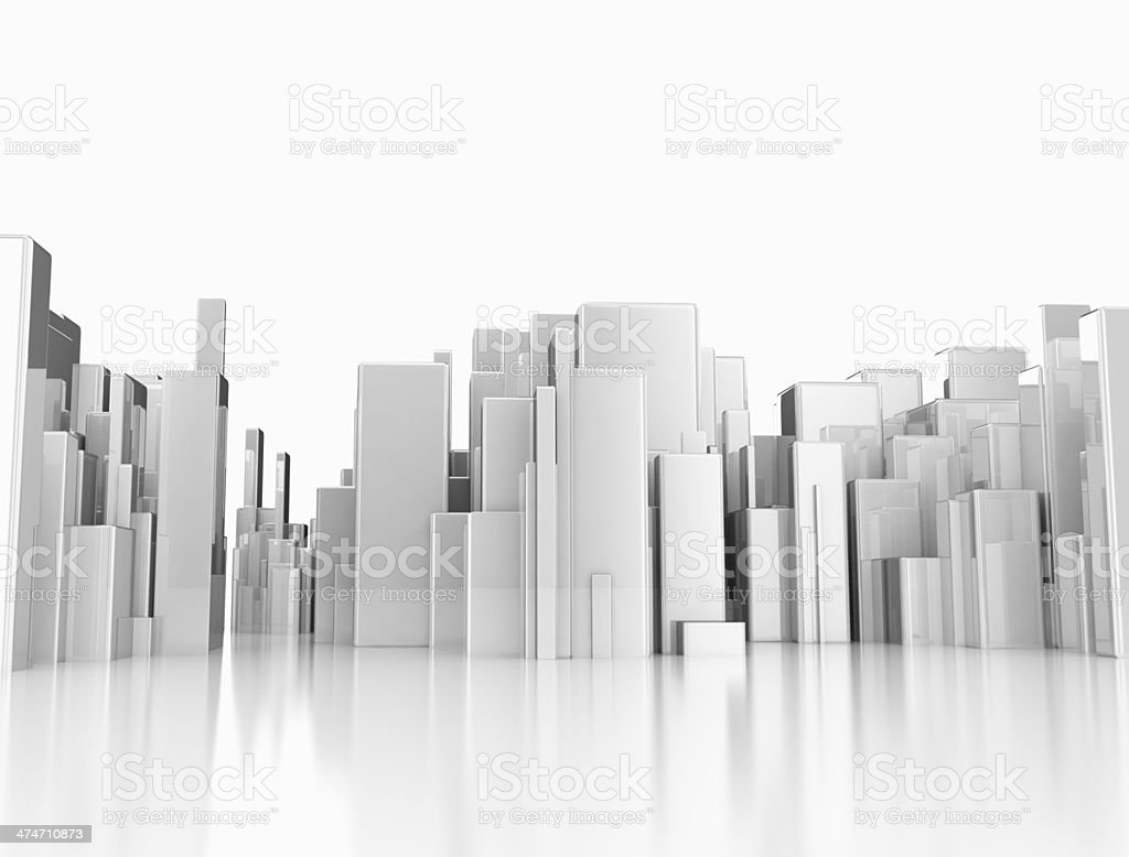 Buildings background stock photo