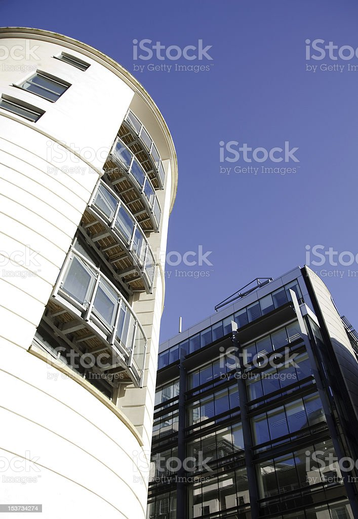 Buildings By Day royalty-free stock photo