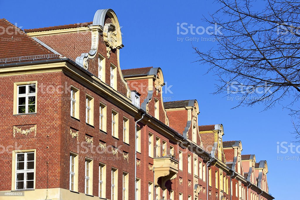 Buildings in Dutch Style royalty-free stock photo