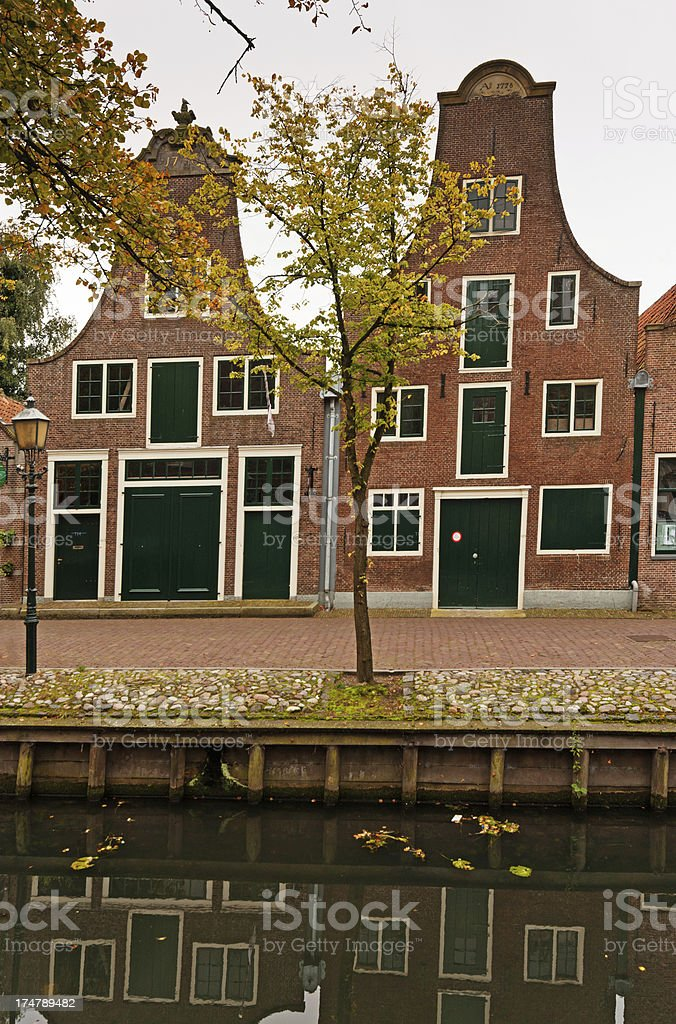 Buildings in Edam Netherlands. royalty-free stock photo