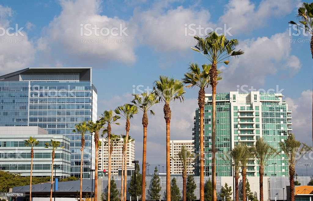 Buildings in Irvine stock photo