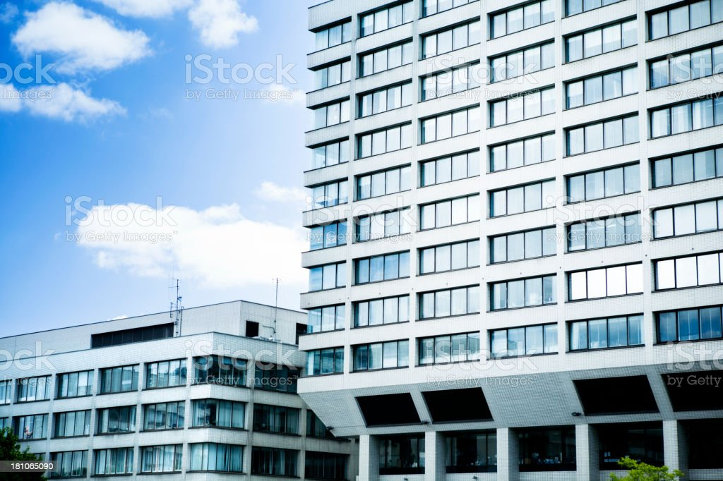 Buildings in London royalty-free stock photo
