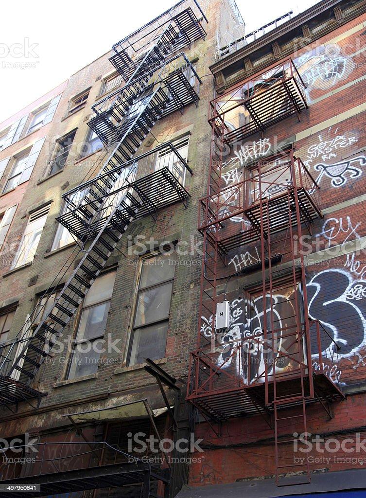 Buildings in New York City, New York, USA stock photo