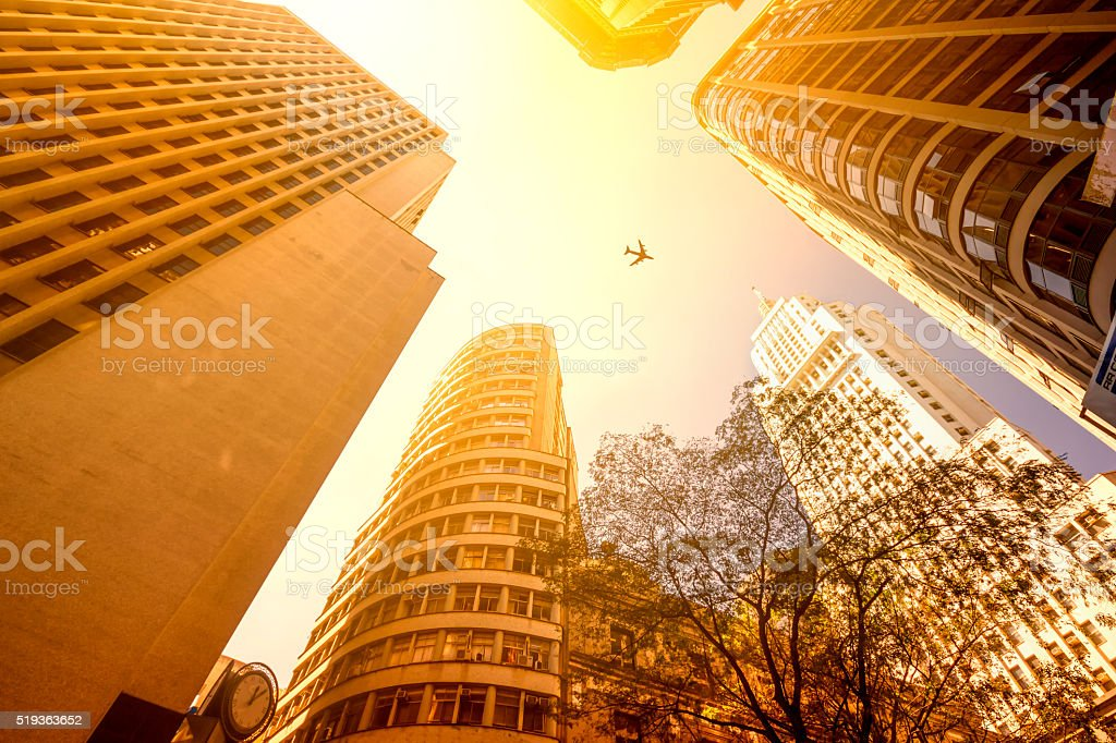 Buildings in Sao Paulo stock photo