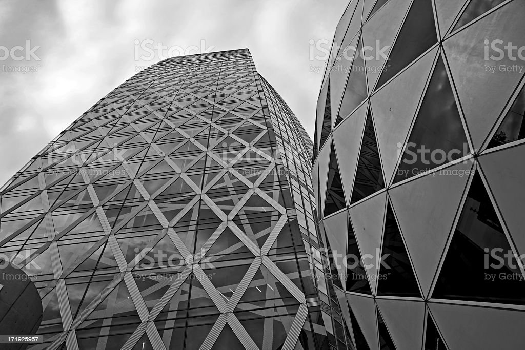 Buildings in Tokyo royalty-free stock photo