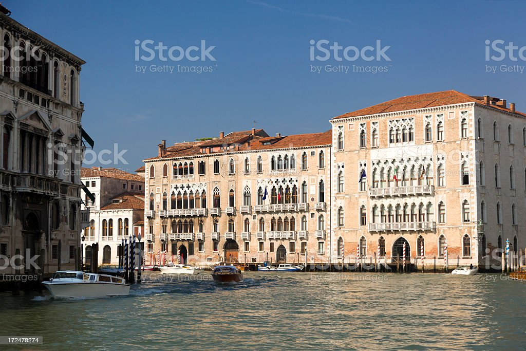 Buildings in Venice royalty-free stock photo