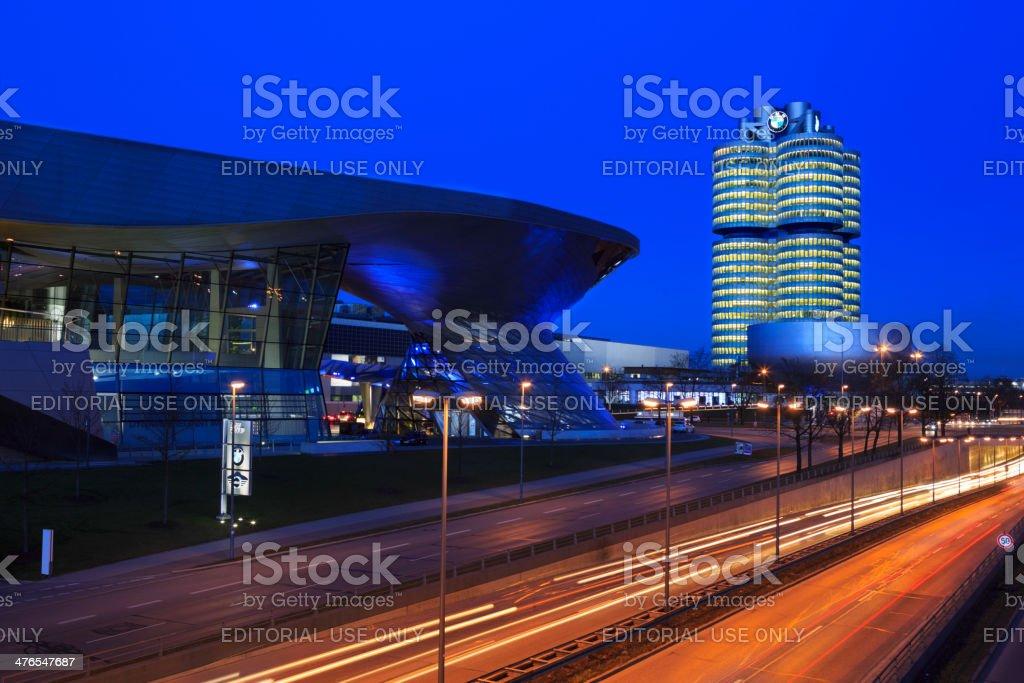 BMW buildings, Munich stock photo