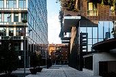 Buildings of Milano Under Bosco Verticale