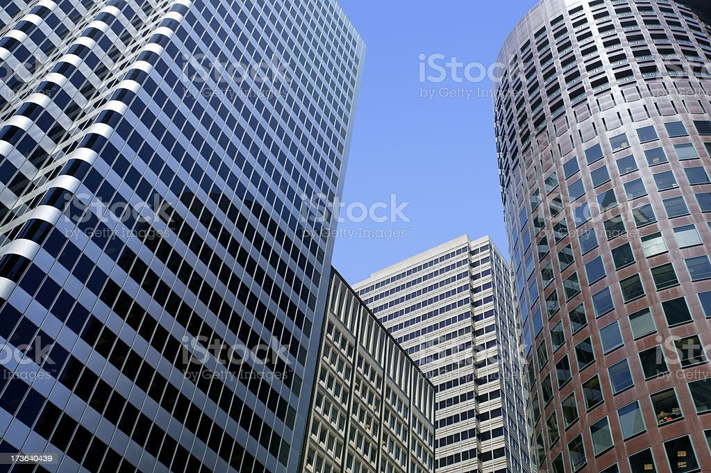Buildings royalty-free stock photo