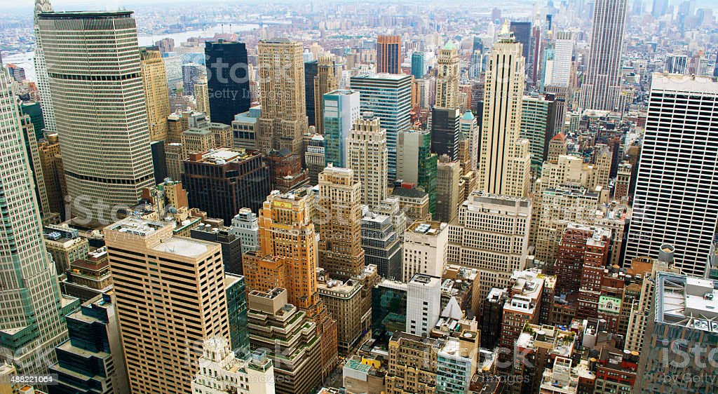 NYC Buildings stock photo