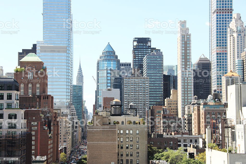 NYC Buildings stock photo