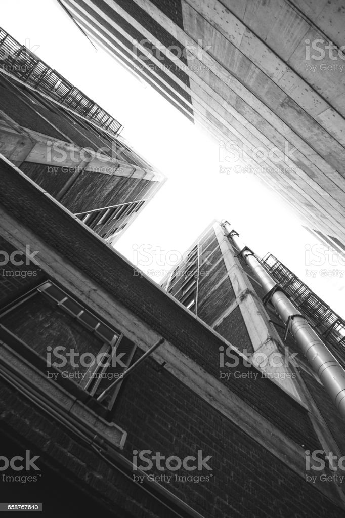 Buildings stock photo