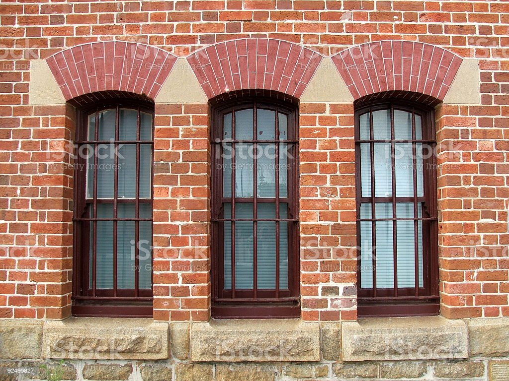 Buildings - Windows royalty-free stock photo
