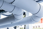 builiding industrial water pipeline